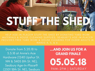 Stuff the Shed 2018