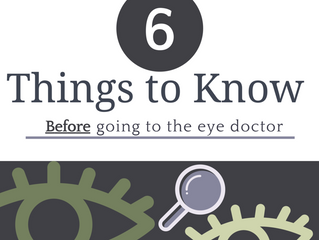 6 things people with vision loss should know about before going to the eye doctor
