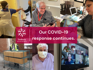 Reflections on One Year of Serving Older Adults in a Pandemic