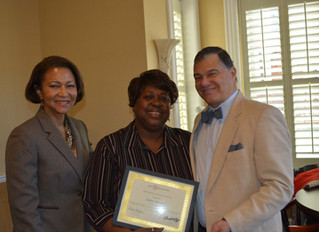 Gyimah-Akesson Awarded Employee of the Quarter