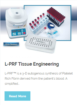 L-PRF Tissue Engineering | Wellness Dental Center | Westlake Village