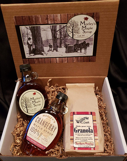 Two Syrup Plus Gift Basket