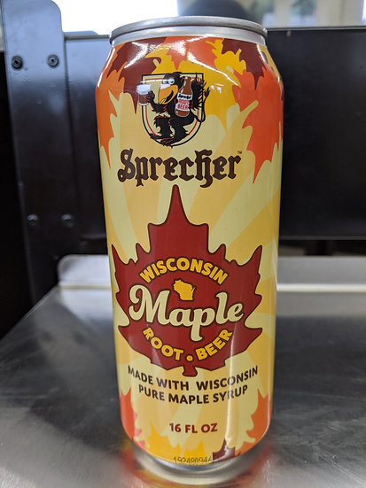 Maple Root Beer - 16 oz Can