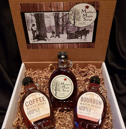 Three Syrup Gift Basket