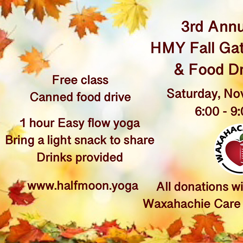 3rd Annual Fall Gathering