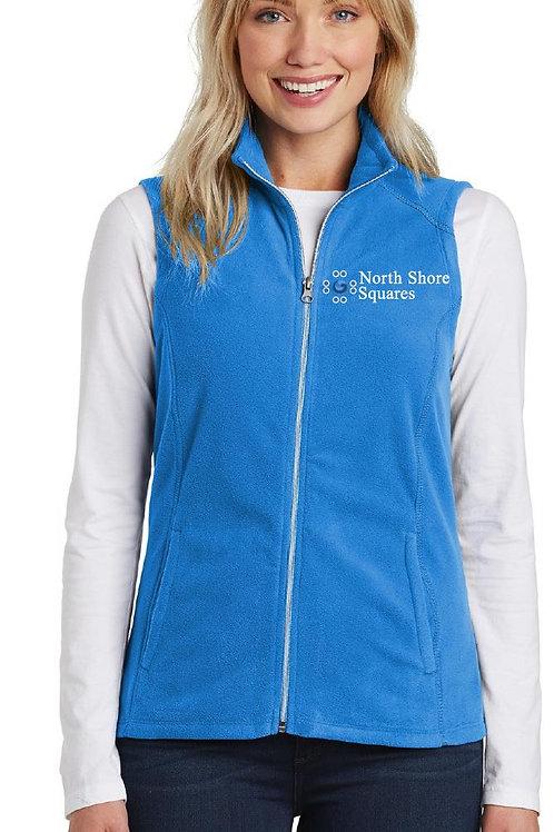 Ladies Microfleece Full Zip Vest