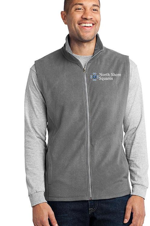 Mens Microfleece Full Zip Vest
