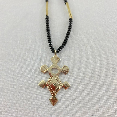 Cross of Agadez Necklace (Small) Style 1