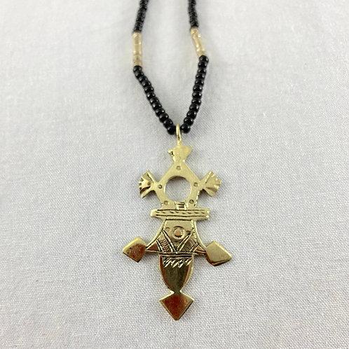 Cross of Agadez Necklace (Medium) Style 1