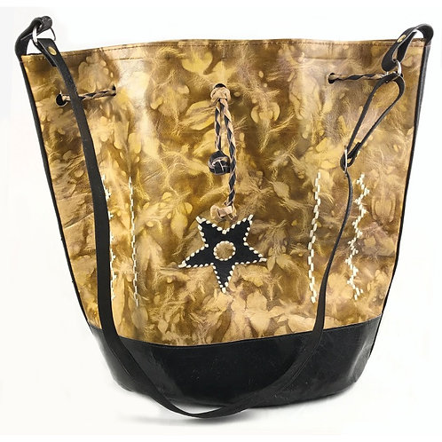 Women's Leather Star Purse