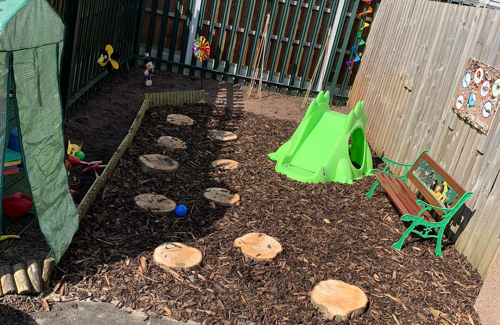 Outside our Pre-school Setting