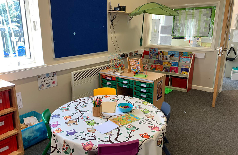 Inside our Pre-school Setting