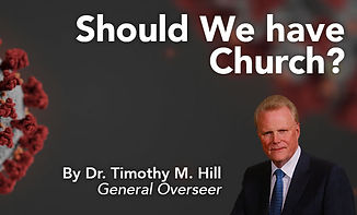 Should We Have Church Services?
