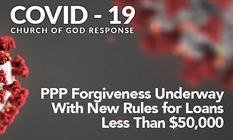 PPP Forgiveness Underway