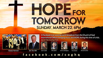 hope for tomorrow fACEBOOK live worship event