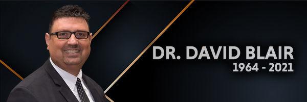 Funeral Arrangements for Dr. David C. Blair