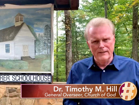 Dr. Timothy M. Hill, General Overseer, shares why #WePray