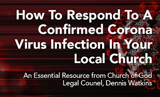 Covid-19 Response Steps for a Confirmed Case In Your Church