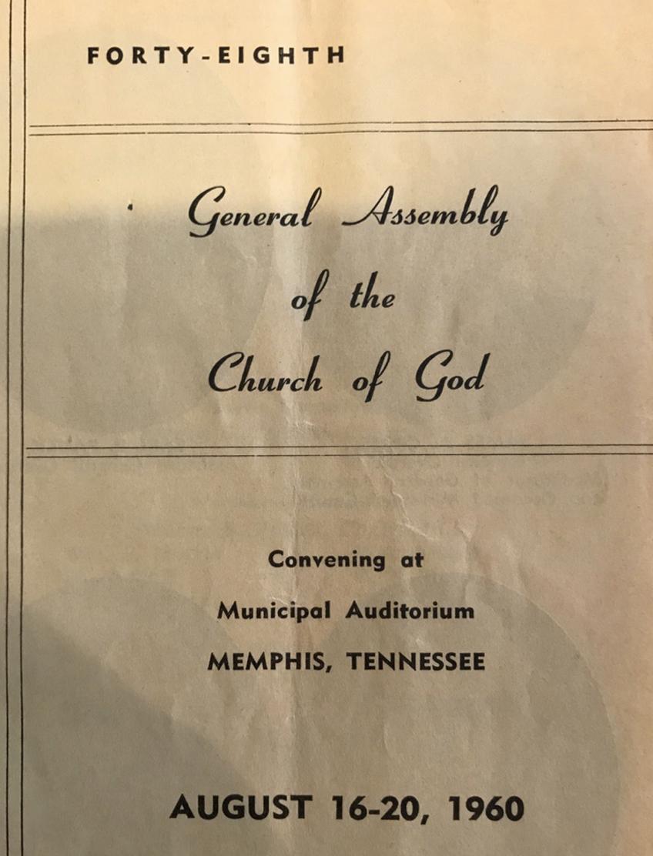 Original General Assembly Program