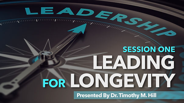 Leading for Longevity Session 1 ENGLAND.