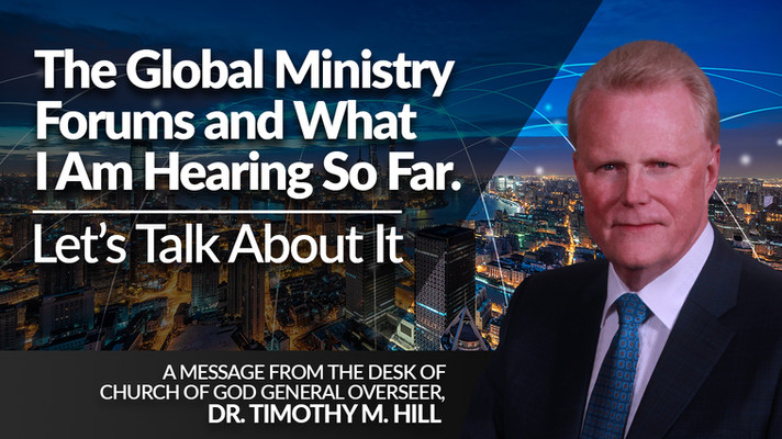 The Global Ministry Forums and What I Am Hearing So Far
