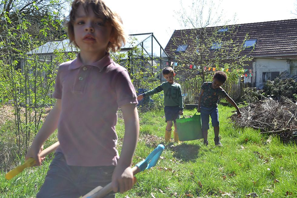 Roofvogels spotten en vuurtje stoken met vierjarigen.