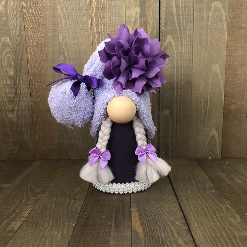 Purple Girl Gnome