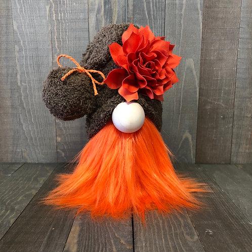 Burnt Orange Tiered Tray Gnome