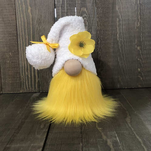 Yellow Poppy Gnome