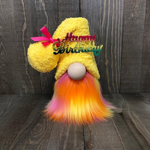 Happy Birthday Tiered Tray Gnome