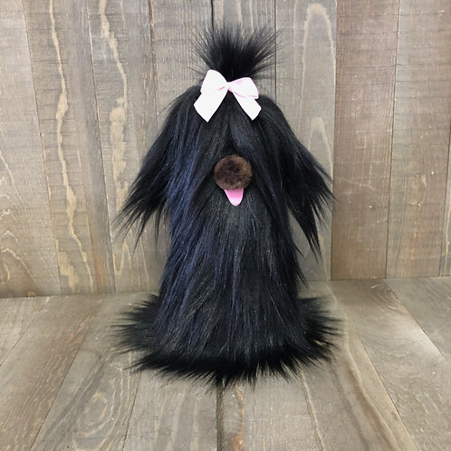 Black Doggie Gnome