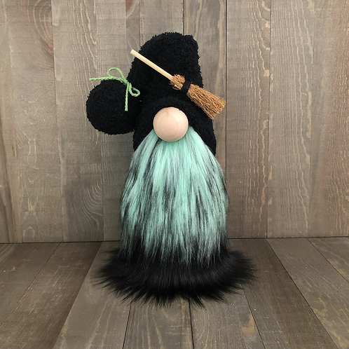 Green Witch Gnome