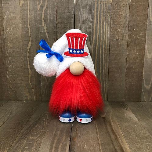Patriotic Hat Gnome
