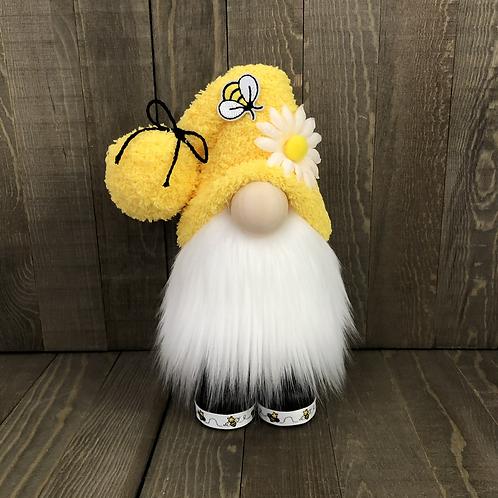 Yellow Bee Trim Gnome