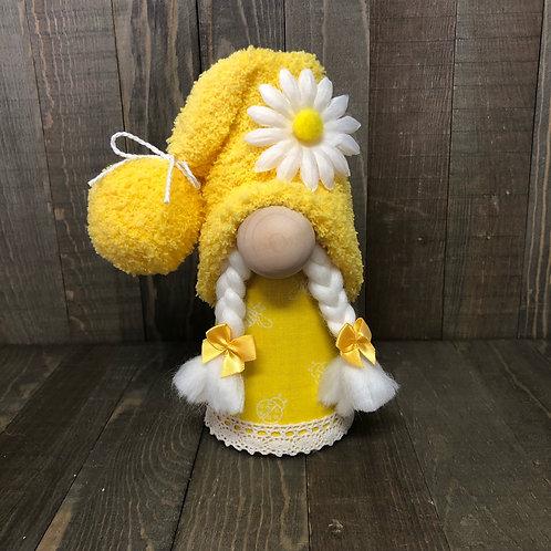 Girl Yellow Gnome