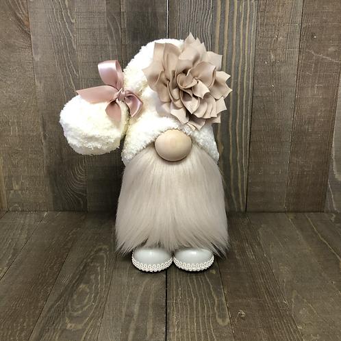 Champagne Flower Gnome