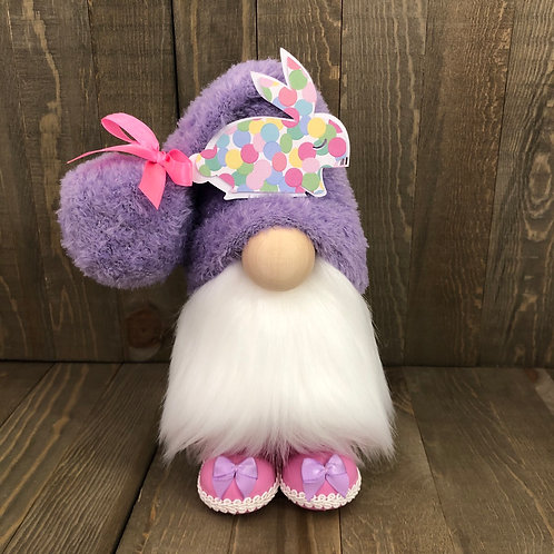 Lavender Bunny Gnome