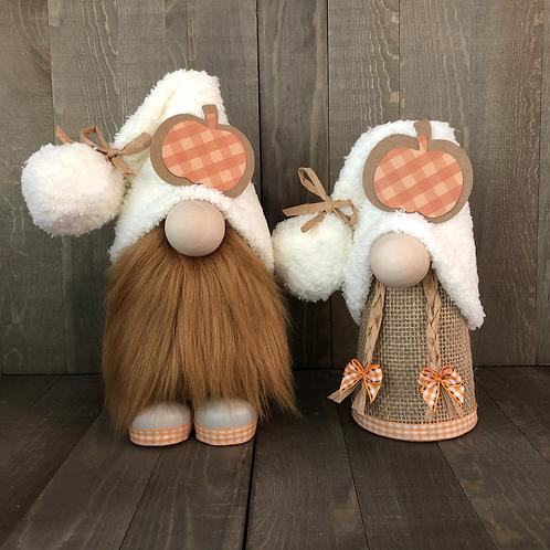Fall Pumpkin Couple