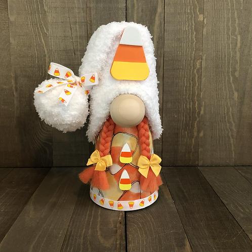 Candy Corn Girl Gnome