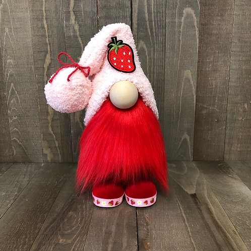 Strawberry Gnome with Boots