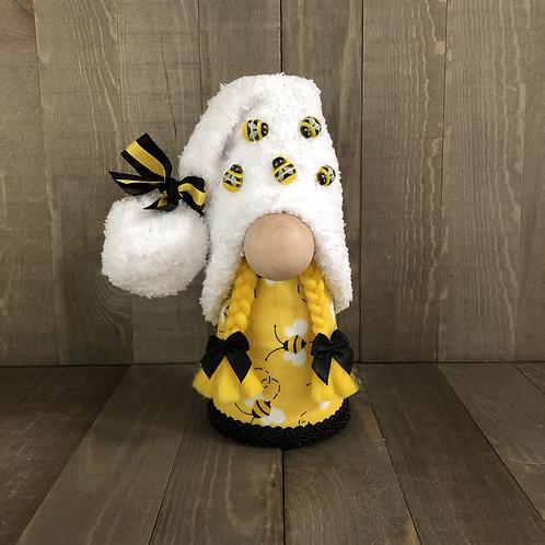 Bee Girl Gnome