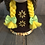 Thumbnail: Brown Sunflower Girl Gnome