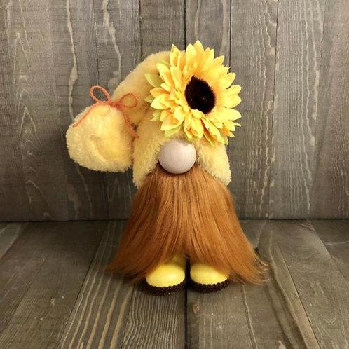 Sunflower Fall Orange Gnome