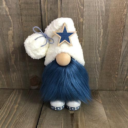 Patriotic Farmhouse Gnome