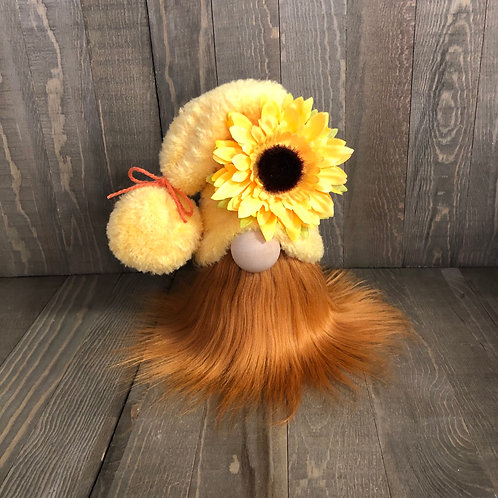 Fall Tiered Tray Sunflower Gnome