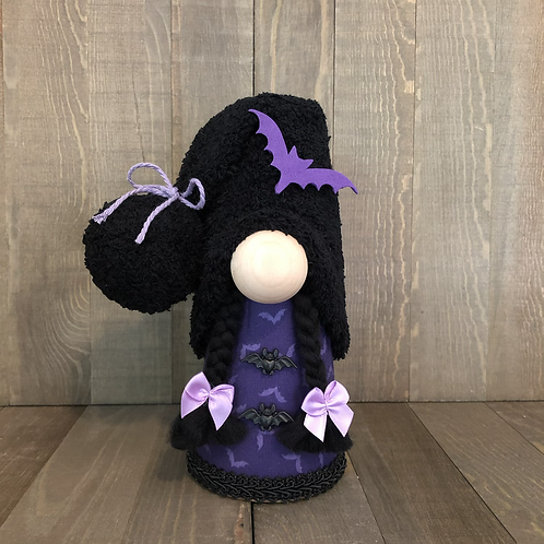 Purple Bat Girl Gnome