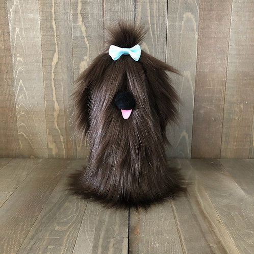 Solid Brown Doggie Gnome