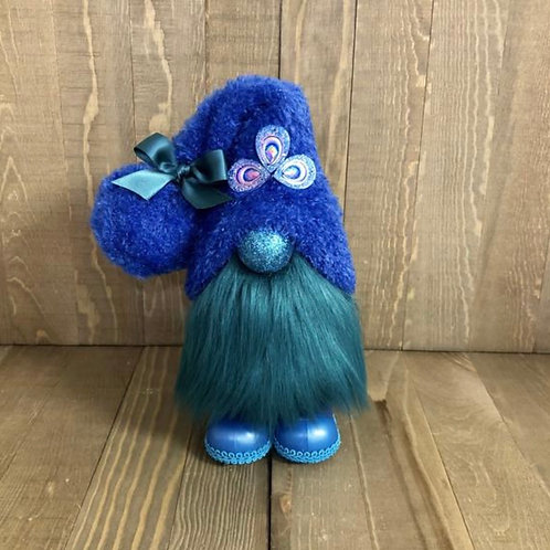 Peacock Gnome with boots