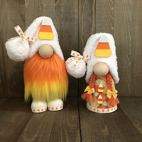 Candy Corn Gnome Couple