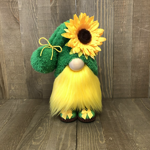 Green Sunflower Gnome